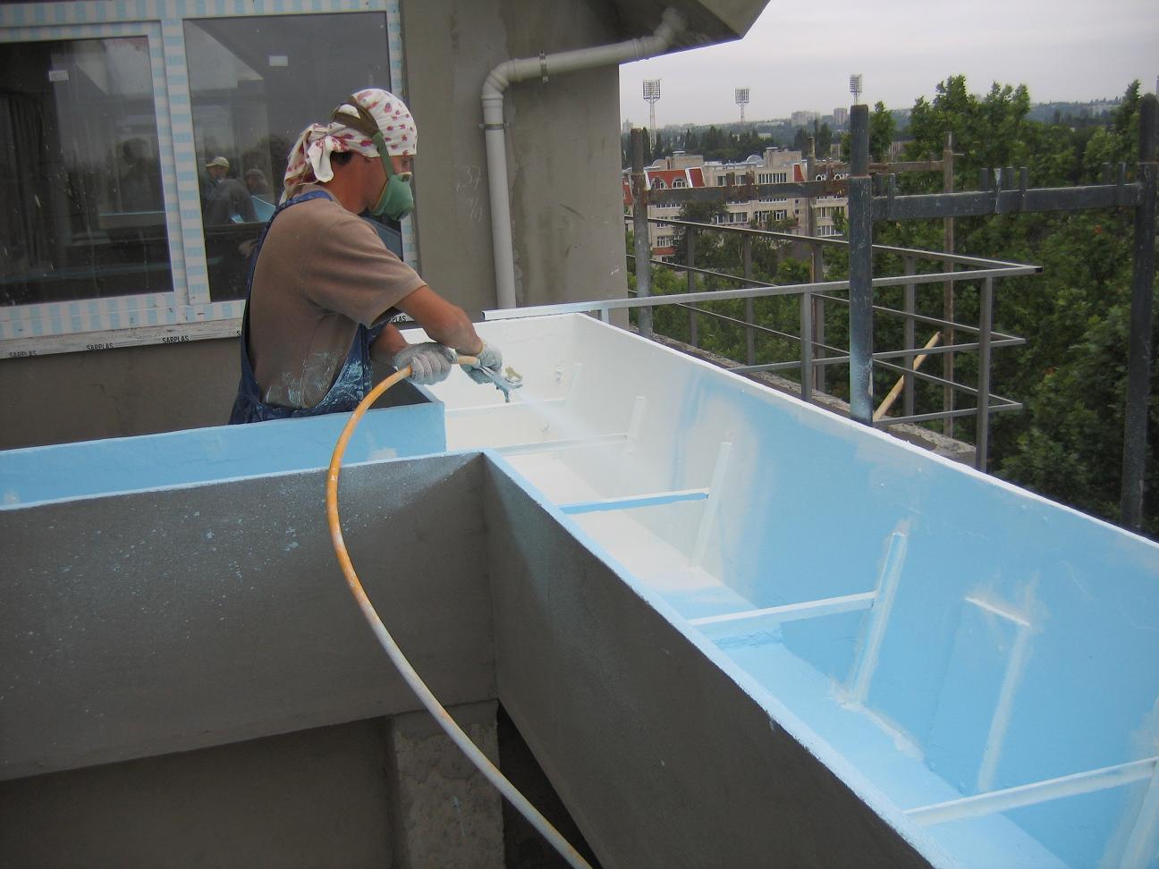 Жидкая гидроизоляция, полимерные материалы для гидроизоляции.